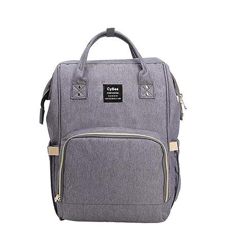 OneMoreT mochila Oxford impermeable para mamá, bebé, pañales ...
