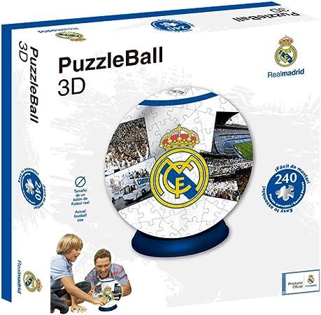 Real Madrid Puzzleball Cf Tamaño Balón 8 4 63690 Multicolor Ninguna Eleven Force 1 Amazon Es Deportes Y Aire Libre