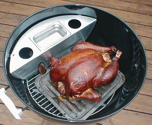 Smoker Kit for 22 Weber Kettle Grills Bonus Steven Raichlen Project Smoke Cookbook