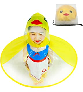 ae4078de8e2c9 KMYS Children s Duck Raincoat ,Portable Reusable Raincoats in Girls  and  Boys  Rain Wear