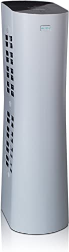 Alen Paralda Dual Airflow Tower Air Purifier to Remove Allergies, Mold Bacteria, 500 Sq Ft, in White