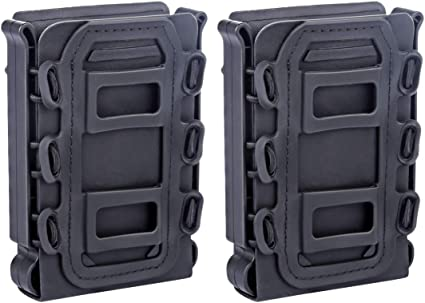 TPR Tactique Fastmag Mag Pouch pour Ar15 //M4 //5.56//7.62 ALLESOK Porte Chargeur Molle