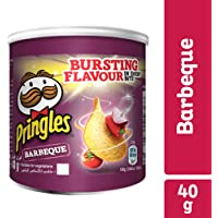 Pringles Barbeque Flavored Chips - 40 grams Can