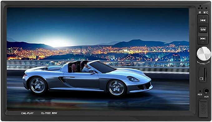 Asiright - Unidad de radio FM estéreo para coche con Bluetooth, 7 pulgadas, HD, pantalla HD, reproductor MP5: Amazon.es: Electrónica