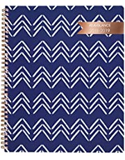 AT-A-GLANCE 2018-2019 Academic Year Weekly & Monthly Planner, Large, 8-1/2 x 11, Carousel Chevron (1112C-905A)