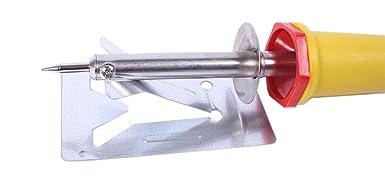Electro-soldadura-Set: soldador de 25 W y hilo de 100 G de Rothenberger y soldadura-CD de HUW24: Amazon.es: Industria, empresas y ciencia