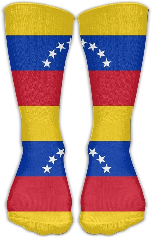 WEEDKEYCAT - Calcetines Altos para Hombre y Mujer, con Bandera de ...