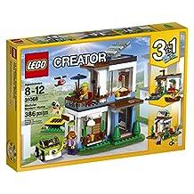 LEGO Creator Modular Modern Home Building Kit, 386 Piece