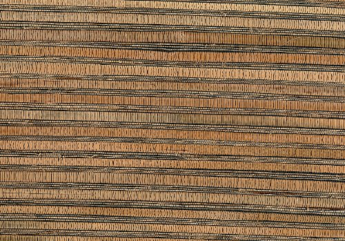 Brewster 53-65630 36-Inch by 288-Inch Naomi - Hand weaved Grasscloth Wallpaper, Mixed Color by Brewster