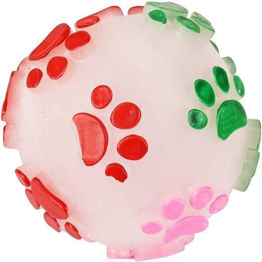 DOGI Juguete para perro – Pelota sonora – , Multicolor: Amazon.es ...