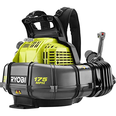 Amazon.com: Ryobi 175 MPH 760 CFM 38cc 2-Cycle Gas Mochila ...