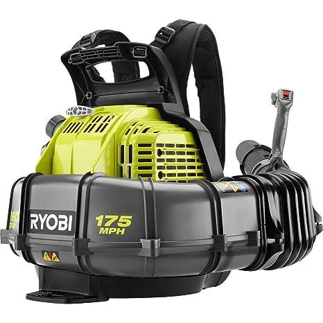 Amazon.com: Ryobi 175 MPH 760 CFM 38cc 2-Cycle Gas Mochila ...