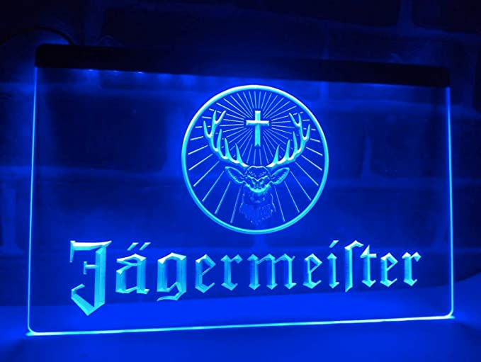 alemán licor y bebidas espirituosas Neon LED caracteres ...