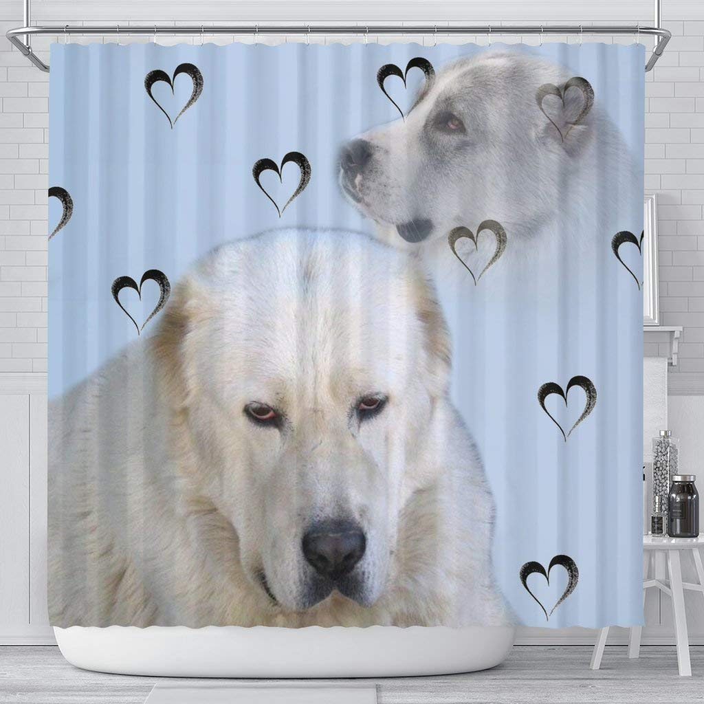 Amazon Pawsion Amazing Central Asian Shepherd Dog Print Shower Curtain Sports Outdoors