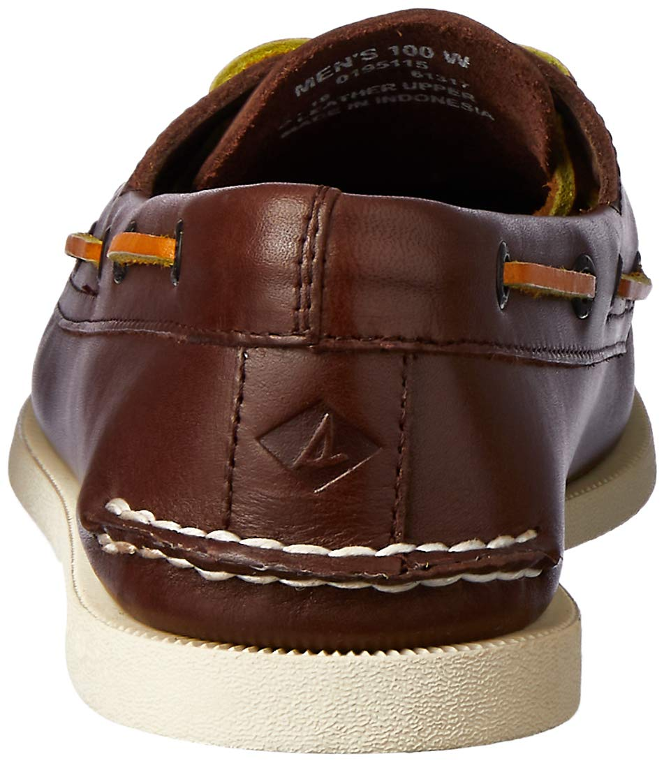 Sperry Men's A/O 2 Eye Boat Shoe,Brown,11.5 M US by SPERRY (Image #2)