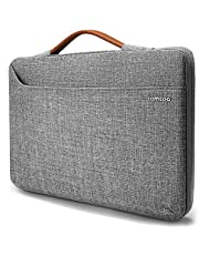 tomtoc Laptop Sleeve for 16-inch MacBook Pro, Microsoft Surface Book 3/2 15, 360 Protective Bag for 15-inch Old MacBook Pro, Dell XPS 15, The New Razer Blade 15, ThinkPad X1 Extreme Gen 2 15""