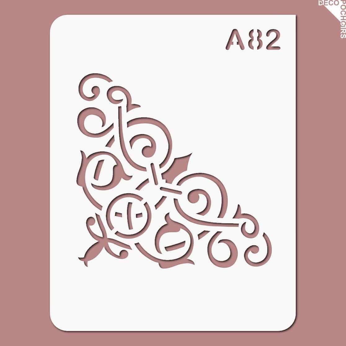 Feuille 94x121 mm decopochoirs Pochoir Classique