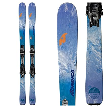 Amazon.com   Nordica Astral 78 CA Womens Skis with TP2 FDT Bindings ... 63db3568e