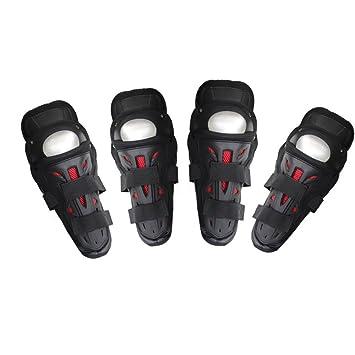 Rodilleras Almohadillas de rodillera y codo de la motocicleta Racing Gear de protección Resistente al desgarro