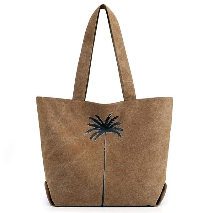 5ed798ba8b66 Amazon.com: Tote Bag Shoulder Bag Casual Handbag Travel Bag Cotton ...