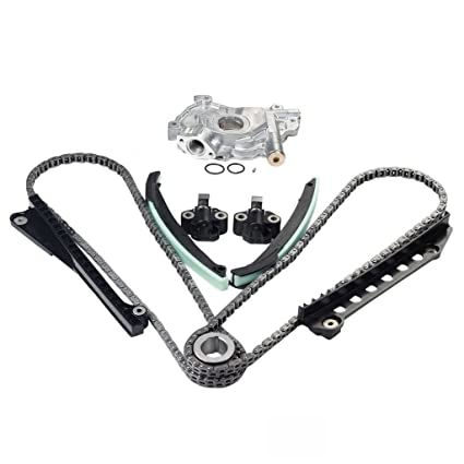 Amazon com: 3-V Triton Timing Chain + Oil Pump Kit For 04-08