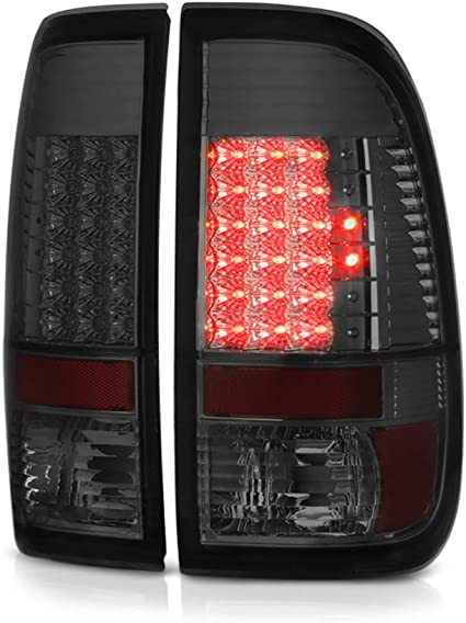 Smoke LED 3rd Brake Light For Ford F250//F350//F450 Superduty Lumileds LED Tail Lights Brake Lamps