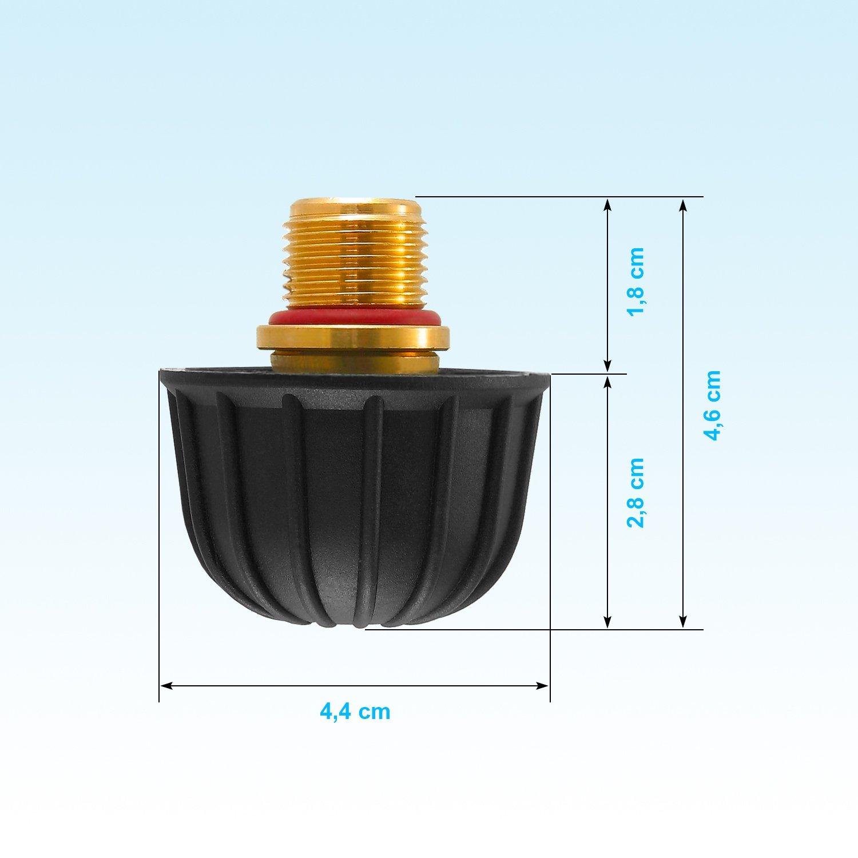 Laurastar Einfüllstutzen schwarz Ø16,5 mm für Premium Magic Modelle
