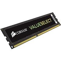 Corsair CMV4GX4M1A2133C15 Value Select 4GB (1x4GB) DDR4 2133Mhz CL15 Mémoire pour Ordinateur de Bureau Noir
