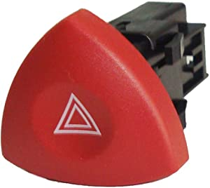 Car Hazard Dash Warning Light Switch Replacement For Renault Espace For Vauxhall