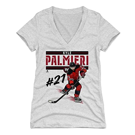 c3f8212cc20 Amazon.com : 500 LEVEL Kyle Palmieri Women's Shirt - New Jersey ...