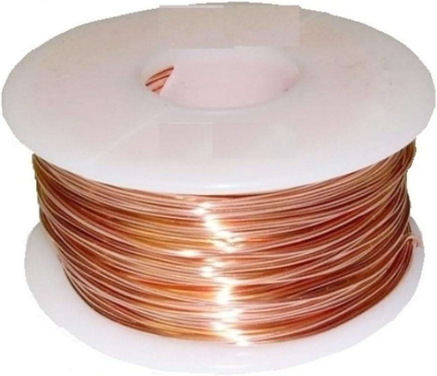 Copper Wire 22ga 1lb 500 Ft.half Hard