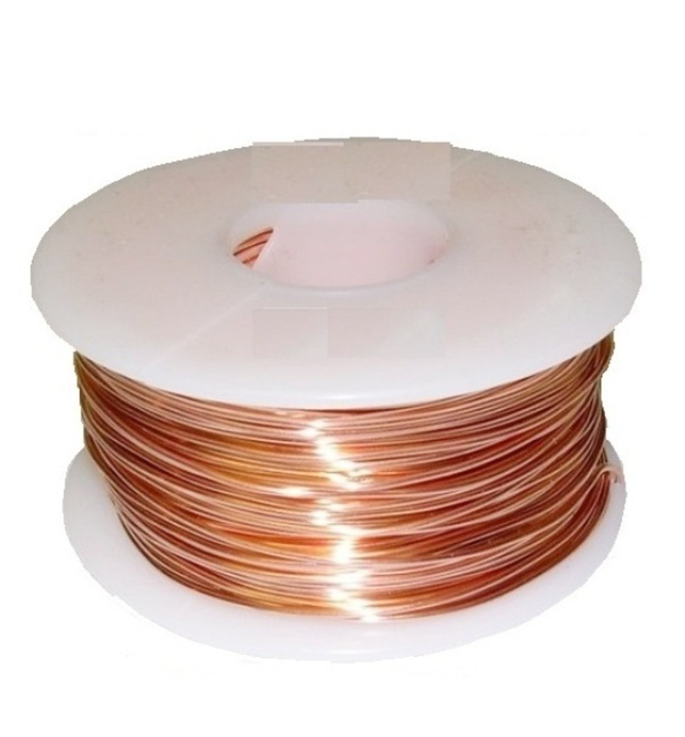 Copper Wire 22ga 1lb 500 Ft.half Hard)