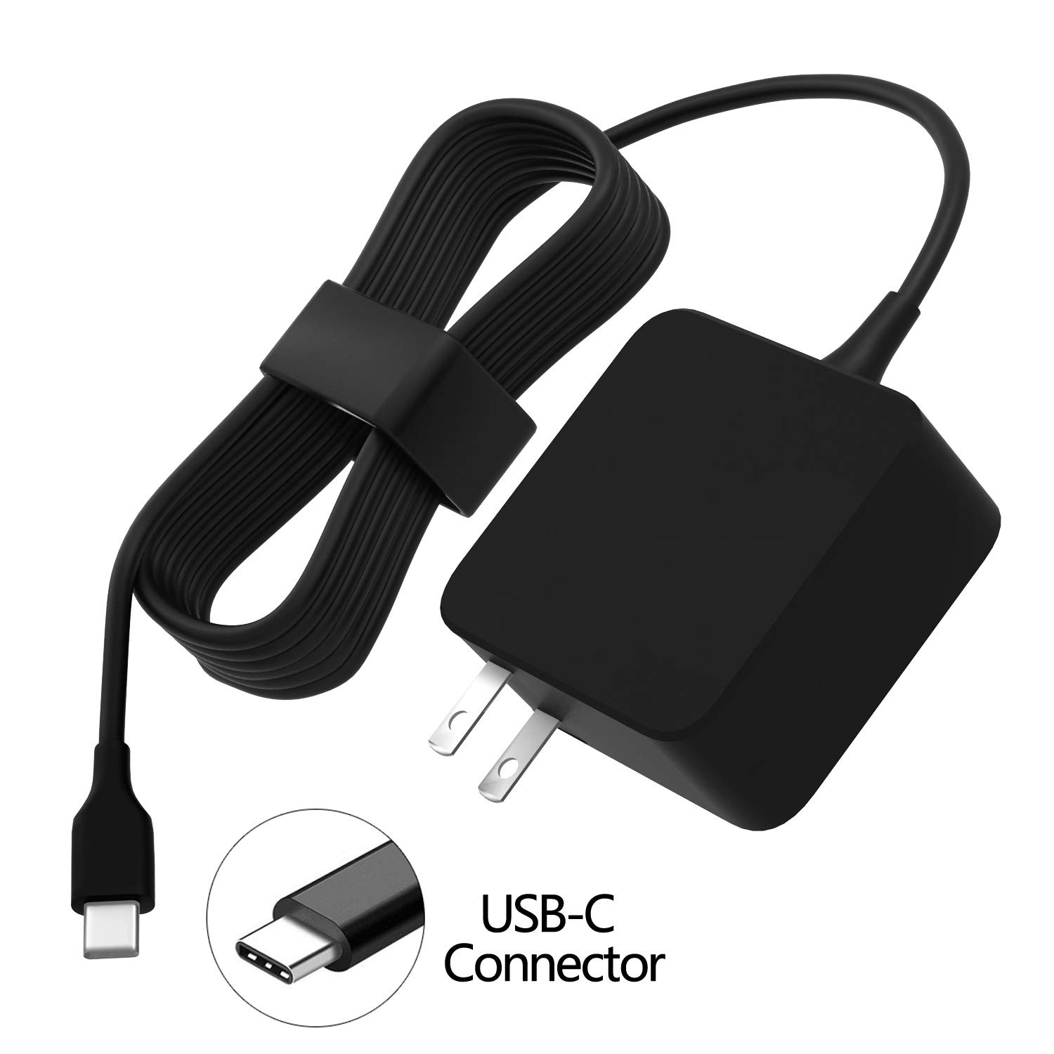 Type C USB Charger Fit for HP Chromebook 14 14A G5 14-ca061dx 14-ca020nr 14-ca060nr 14-ca043cl 14-ca052wm 14-ca051wm X360 11A 11 G6 EE 11 G1 ...