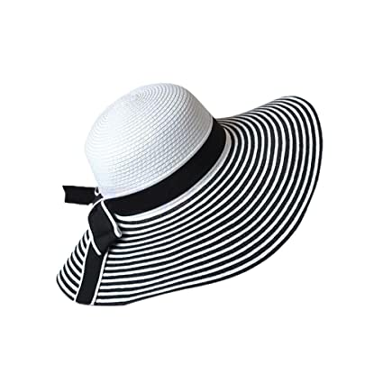 Visors Bimmed Cap Women/'s Big Fashion Bowknot Sun Hat Beach Summer