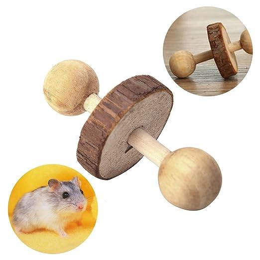 SimpleLife Hamster Chew Toys para Dientes, Ejercicio para Mascotas ...