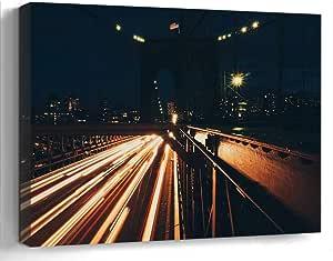 Amazon.com: Amymami Wall Art Print Canvas Framed Artwork