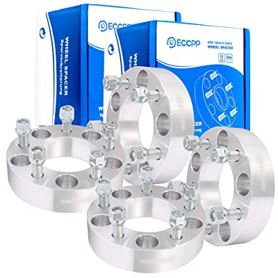 "ECCPP 1.5"" 5x5 to 5x5 Wheel Spacers 5 lug 5x127mm to 5x127mm 87.1mm hub Fits for Chevrolet Tahoe Suburban GMC C1500 Suburban Yukon with 14x1.5 Studs: Automotive [5Bkhe1510436]"