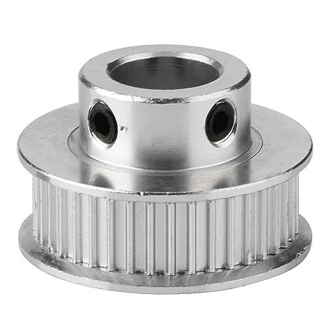 fosa 5Pcs Poleas de Sincronización de Aluminio de Alta Calidad, Poleas Dentadas 40 Dientes de