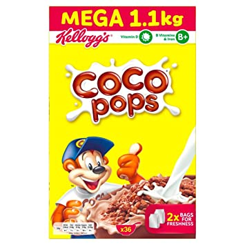 Kellogg S Coco Pops Cereal 1 1 Kg Amazon Co Uk Prime Pantry