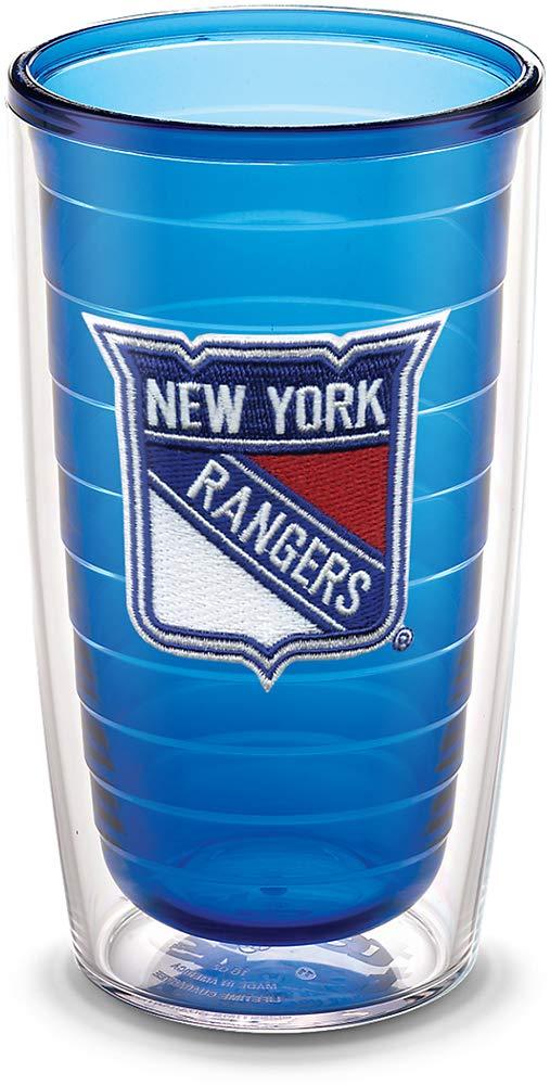Tervis 1196877'NHL New York Rangers' Tumbler, Emblem, 16 oz, Sapphire