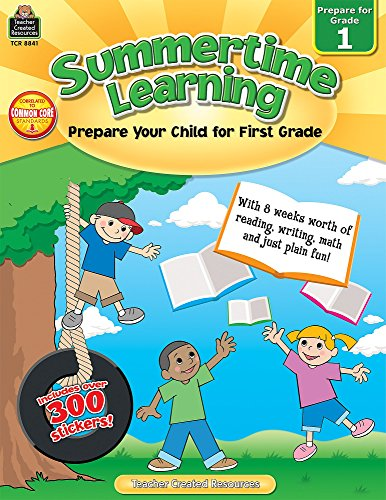 Summertime Learning: Prepare for Grade 1