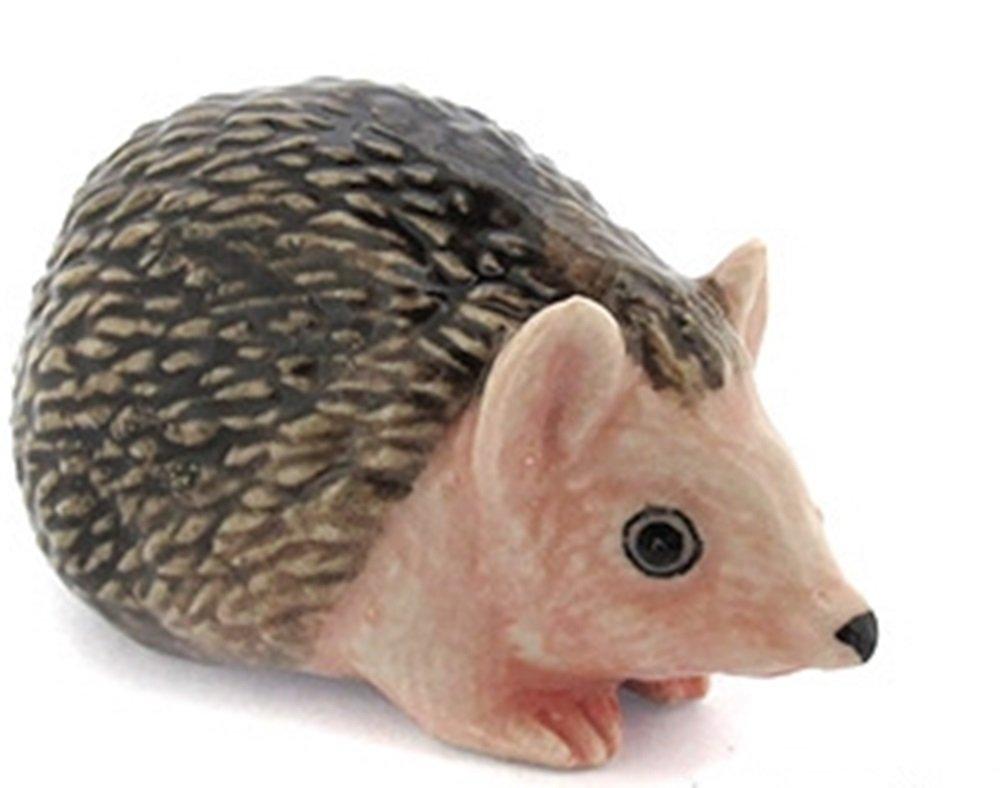 Dollhouse Miniatures Ceramic Porcupine No.2 FIGURINE Animals Decor