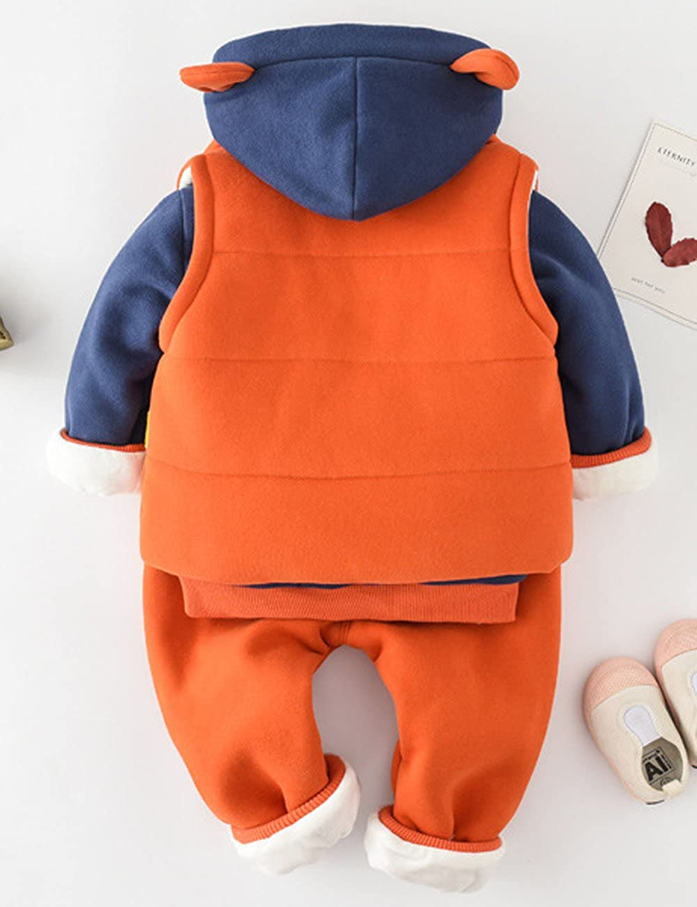 ccd7c47b1 ARAUS 0.5-5 Años Niño Niña Patrón Tops Pantalones Vestimenta Otoño Invierno  Ropa Conjuntos  Amazon.es  Ropa y accesorios