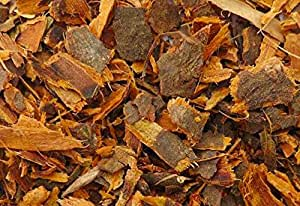 Buckthorn bark. Dried and cut.100% organic (100 grams/3.5 ounces)