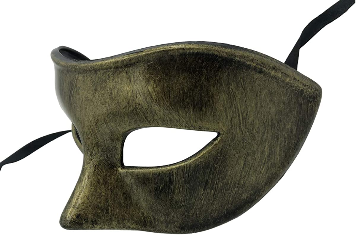 Rehoty Masquerade Mask for Men Vintage Venetian Mardi Gras Halloween Christmas Party Masks