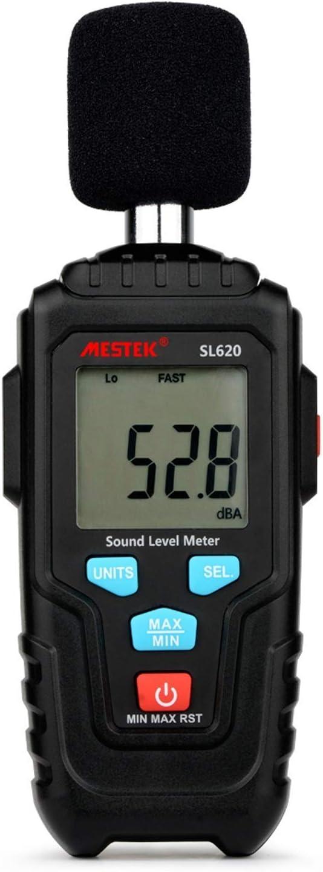 ZYL-YL Portable Decibel Meter Audio Level Meter Logger 30-135dB Noise Measurement Sound Level Meter Detector Diagnostic Tool SL620 Scientific Products