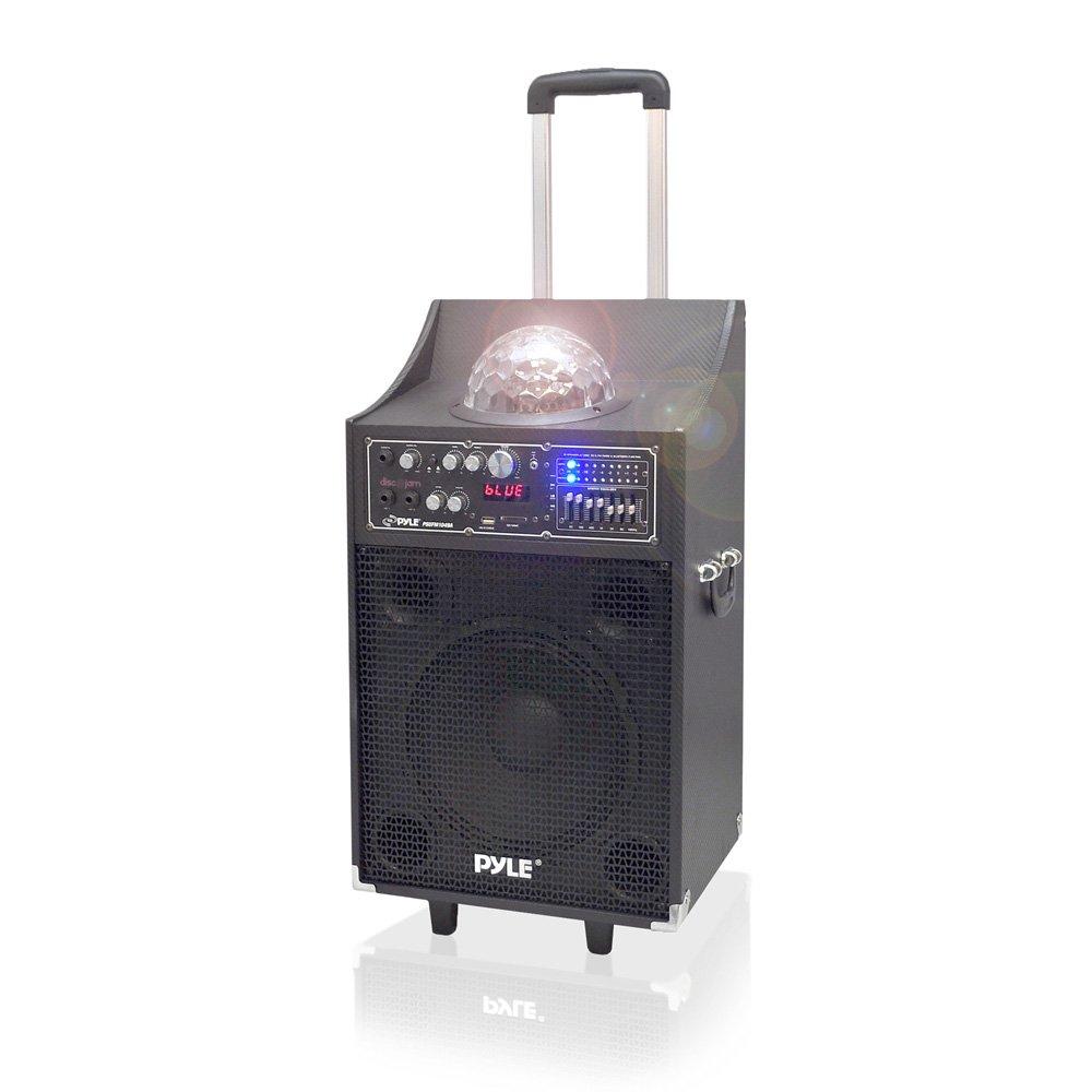PYLE PSUFM1049A 600-Watt Bluetooth 2-Way PA Speaker System