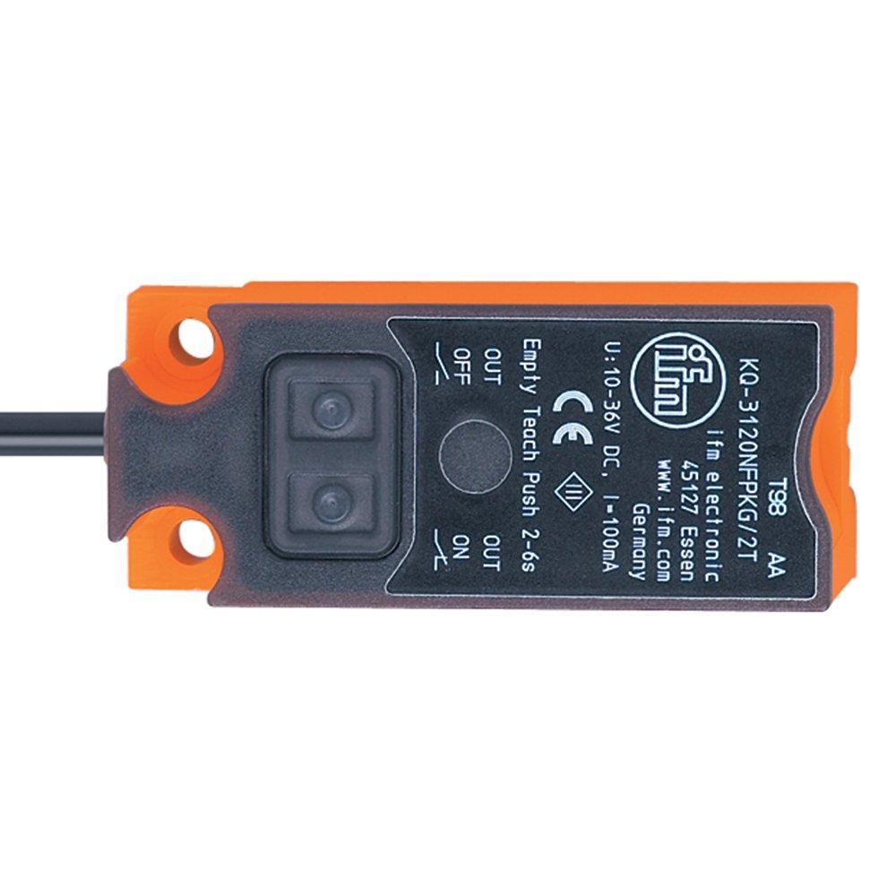 48mm Rectangular Proximity Sensor Ifm Kq6001 Home 2 Wire Circuit Type No Nc Output Mode