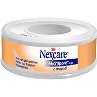 Micropore Bege 12Mmx4, 5M Nexcare, Nexcare, Bege