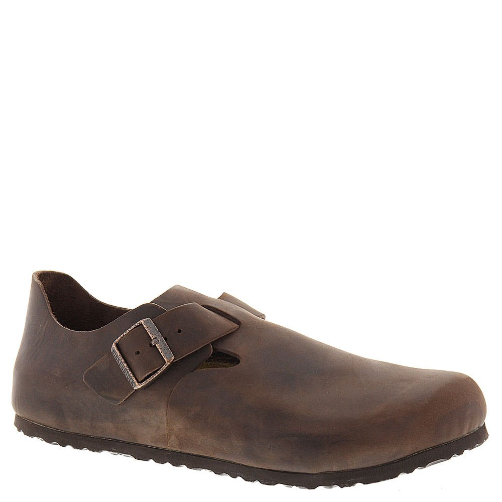 Birkenstock Womens London Clog Habana Oiled Leather Size 39 EU (8-8.5 M US Women)